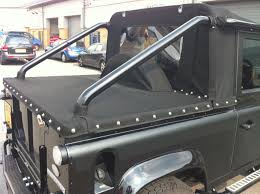 land rover pickup for sale tonneau conversion for land rover defender svx convertible pick up