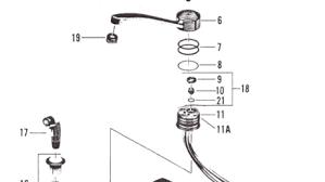 american standard kitchen faucet repair parts repair american standard kitchen faucet elclerigo
