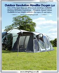 Motorhome Drive Away Awning Review Movelite Oxygen 3 0 Drive Away Free Standing Inflatable Motorhome