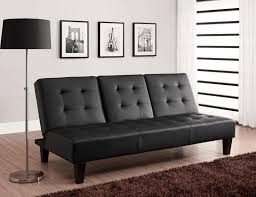 Convertible Sofa Bed Dhp Furniture Convertible Sofa Bed With Drink Holder