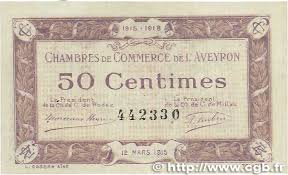 chambre de commerce rodez 50 centimes regionalism and miscellaneous rodez et millau