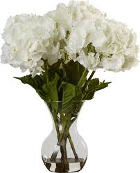 silk hydrangea willa arlo interiors large silk hydrangeas in vase reviews wayfair