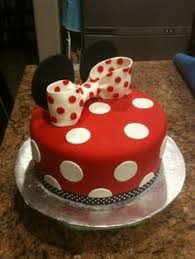 i made this minnie mouse cake for a sweet little u0027s 2nd
