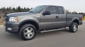 ford f150 truck 2005 sold 2005 ford f 150 fx4 cab 4x4 91k 5 4 shadow gray