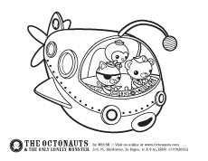 The Octonauts Activities A Coloring
