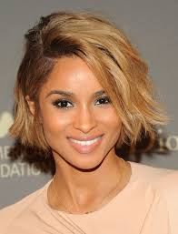flattering the hairstyles for with chins chin length bob haircuts check out ciara rocking a sexy chin