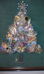 costume jewelry christmas tree christmas lights decoration