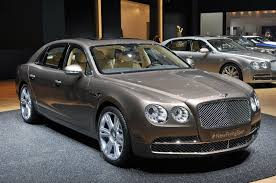 bentley car bentley flying spur less is more