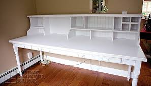 Custom Built Desks Home Office My Custom Built Farmhouse Home Office Desk