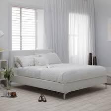 sleep emporium henley white leather ottoman storage bed flat