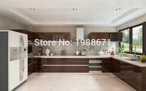 Lacquer Cabinet Doors Mdf Kitchen Cabinet Doors Modern High Gloss Wood Veneer Lacquer