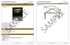 sample house inspection report the home inspection report u2013 acv home inspections