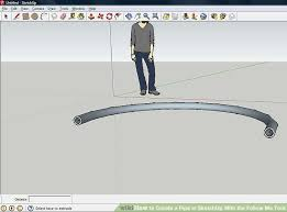 how to create a pipe in sketchup with the follow me tool 8 steps