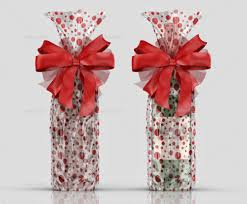 clear gift wrap clear gift bag mockup by fusionhorn graphicriver