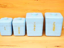 vintage kitchen canister collectable kitchen canisters ebay