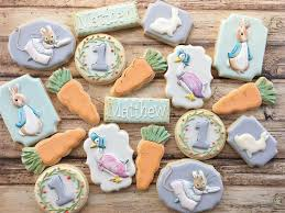 rabbit cookies 60 best rabbit cookies images on beatrix potter