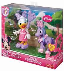 amazon fisher price disney minnie daisy u0027s playtime pony toys
