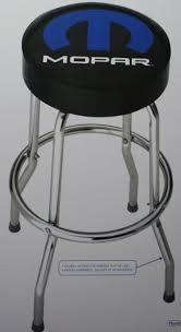 shop bar stool mopar bar stool chair shop work garage top man cave dodge chrysler