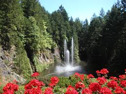 butchart gardens a mine site is transformed into a paradise of