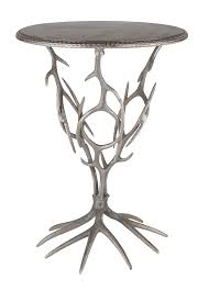 bright event rentals antler cocktail table 20