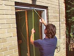 How To Build A Brick Shed Step By Step by How To Install A Pre Hung Exterior Door How Tos Diy