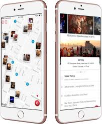 postcard app launches venue heatmaps advancing social apps nyc