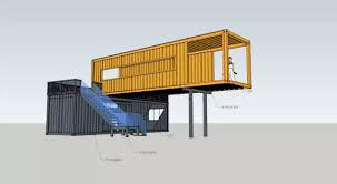 2unit 40ft shipping container coffee shop pop up container