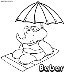babar coloring pages coloring pages to download and print