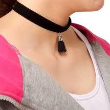 black choker necklace aliexpress images Girls plain summer neck jewelry women 39 s choker necklace fashion jpg