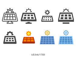 solar panels clipart solar panel icon free download png and vector