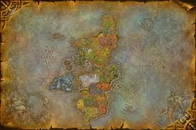 World Of Warcraft Map by World Of Warcraft Composites Eastern Kingdoms By Digitalutopia On