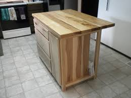 hickory kitchen island hickory kitchen island by don lumberjocks woodworking