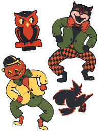 we had this set when i was a kid retro halloween decorations
