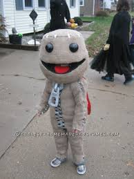awesome costumes big planet s sackboy costume