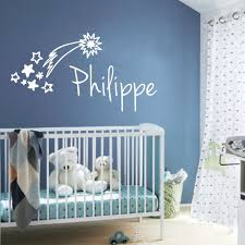 stickers chambre b b personnalis sticker chambre bb toile filante nom personnaliser chambre bebe