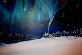 how to paint northern lights northern lights acrylic painting google search art ideas
