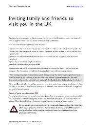 Wedding Invitation Letter For Us Visitor Visa invitation letter for visitor visa friend resume and cover letter