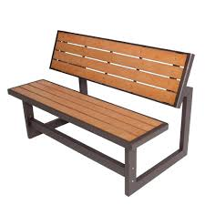 wood alternative patio glider benchgarden furniture round wooden