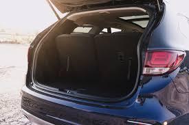 cargo space in hyundai santa fe review 2017 hyundai santa fe xl canadian auto review