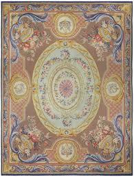 vintage french aubusson rug bb5215 by doris leslie blau