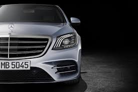 mercedes headlights 2018 mercedes benz s class sedan headlight photos first pictures