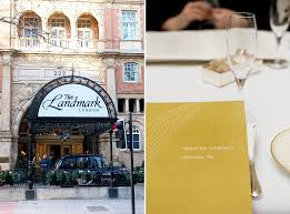 tea at the landmark london