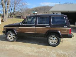 1989 jeep wagoneer limited buy used 1989 jeep wagoneer limited sport utility 4 door 4 0l in
