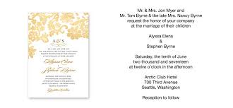 proper wedding invitation wording wedding invitations wording wedding ideas