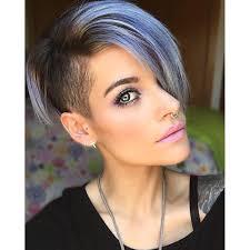 Kurze Haare by Blue Grey Hair Styles Kurze Haare Blau Kurze Haare