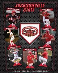 robinson fans trussville al 2018 jsu baseball media guide by jacksonville state athletics issuu