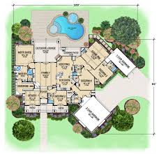 Blueprints For Mansions by Aspen Creek Ranch Style House Plans Rustic Floor Plans