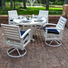 Swivel Rocker Patio Dining Sets Faux Wood Furniture Faux Wood Grain Painted Furniture Painting