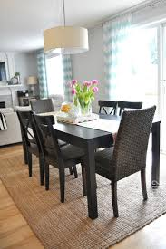 round kitchen dining table and chairs stone floor elegant