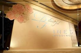 wedding backdrop hk floral pattern backdrop design at langham hotel 朗庭酒店